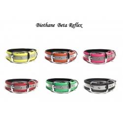 Biothane Halsband Deluxe Neopren BETA REFLEX